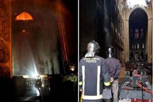机器人在巴黎圣母院大火中做了些什么