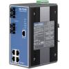 研华EKI-7559MI光纤端口8+2SC宽温网管型工业以太网交换机