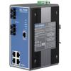 研华EKI-7554MI宽温网管型工业以太网交换机4+2SC光纤端口
