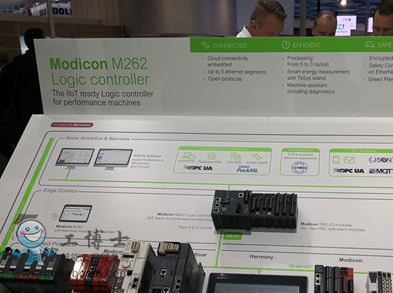 Modicon M262直连云高性能逻辑运动控制PLC