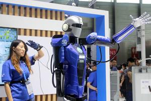 """机器人""""艺术家""""!MWC聚焦5G时代AI智能"""