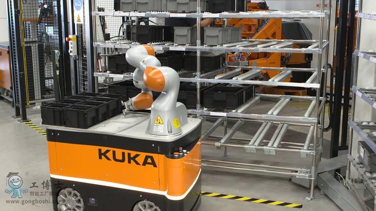 工业机器人主要任务需要控制技术来完成——库卡机器