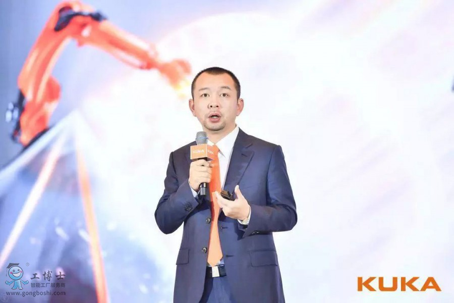 KUKA 机器人中国销售总监