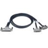 研华PCL-10250线缆2m SCSI-100到2*SCSI-50双屏蔽电缆