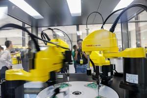 发那科机器人华南基地广州开发区开业