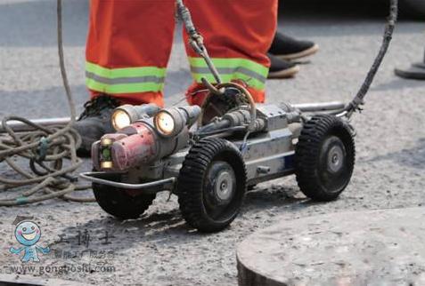 CCTV管道检测机器人检查管网内部 成为排污建设的关键一环