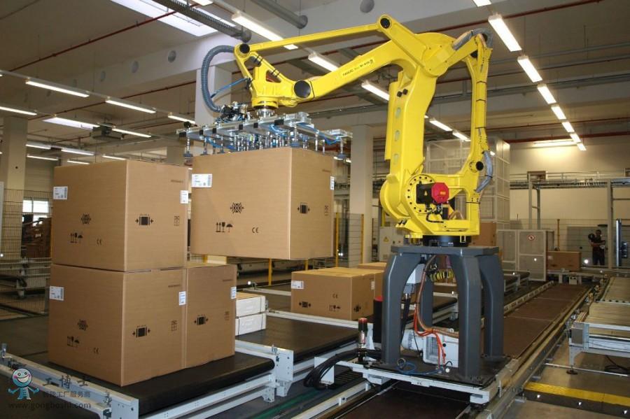 码垛机器人成产业智能转型重要推手