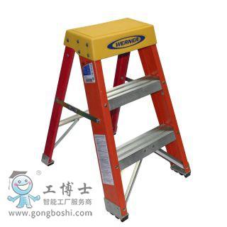 稳耐梯子 6202CN 玻璃钢梯凳(承重136千克),耐压:35KV