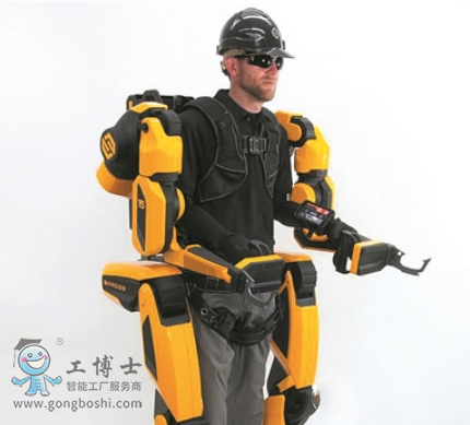 """形似""""钢铁侠""""的外骨骼机器人 将于今年1月交付给首批客户"""