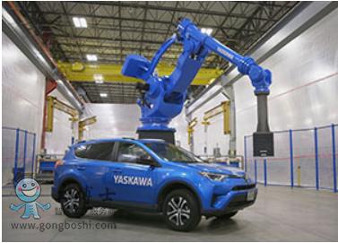 安川喷涂机器人