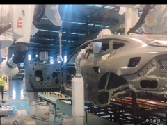 ABB机器人全自动整车喷涂工作站 (19播放)