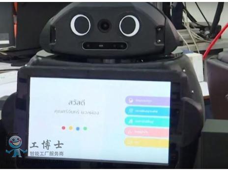泰国医院正在使用忍者机器人来对抗新冠病毒疫情