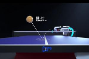 庞伯特乒乓球发球机器人M-ONE