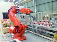 ABB机器人切割工作站集成运用