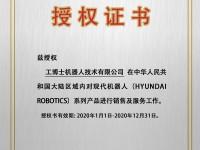 现代机器人代理证