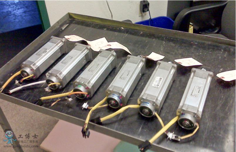 ABB机器人伺服电机维修