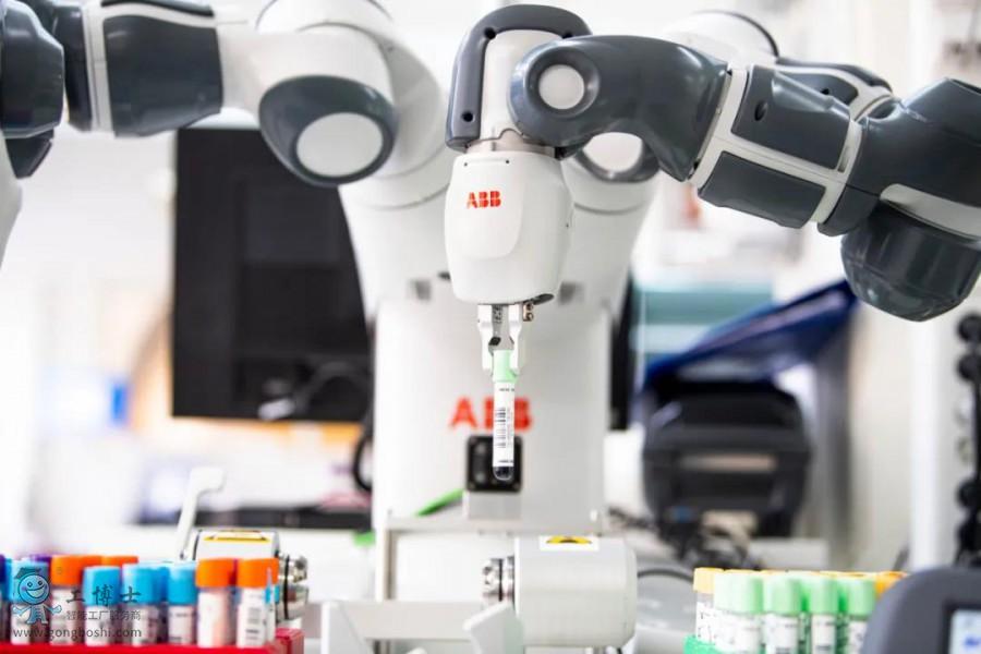 为医务人员减轻负担,ABB YuMi机器人来了!
