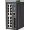 研华EKI-2720G 非网管型工业以太网交换机16GE+4SFP