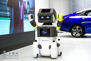 现代推出一款客户服务机器人