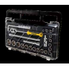 史丹利23件12.5MM系列公制套筒钻石盒组套STMT74173-8C-23