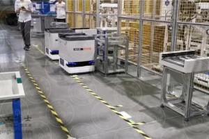 AGV机器人智能化运转实现效益最大化