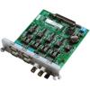 研华UNOP-1624D 带IRIG B功能的4路隔离RS-232 422 485串口卡