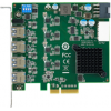 研华PCIE-1154 4端口PCI采集卡 影像USB3.0